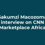 Sakumzi Macozoma interview on CNN Marketplace Africa