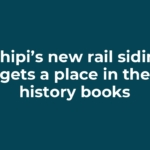 Tshipi's new rail siding gets a place in the history books